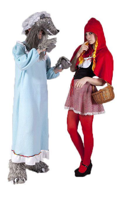 Roodkapje kostuum huren