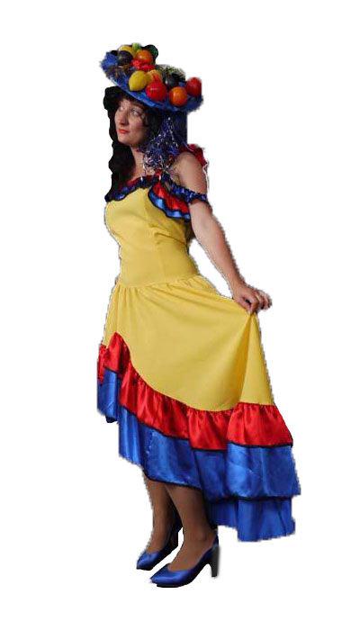 Carnavalskostuum Rio huren