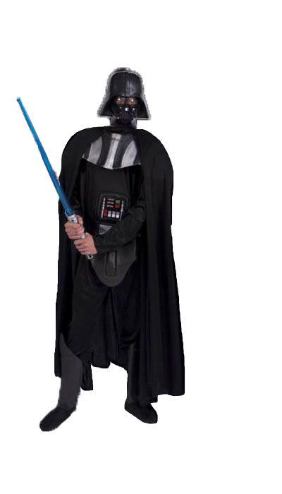 Darth Vader kostuum huren - 164