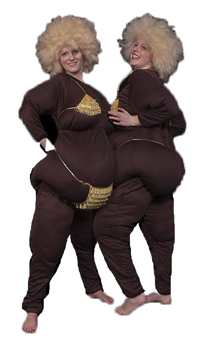 Dikke dames kostuum huren - 262