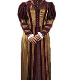 Historische jurk uit de spaanse tijd