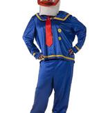 Donald Duck kostuum huren - 168