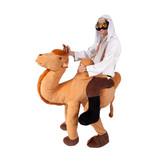 Kameel met Arabier op de rug kostuum
