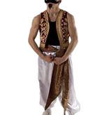 Oosterse sterke man kostuum huren - 403