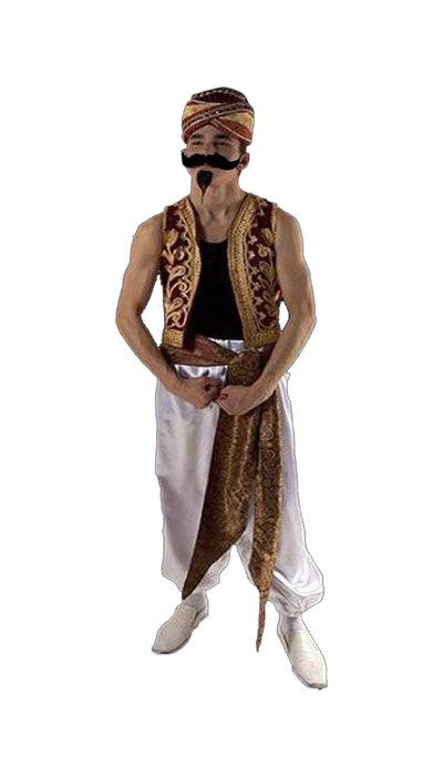 Oosterse sterke man kostuum huren