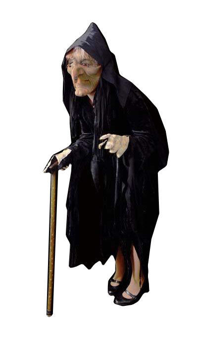 Oude heks