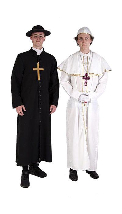 Paus en Pastoor kostuum huren