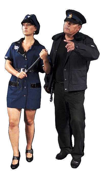 Politie uniform huren