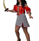 Piraten jurkje huren - 408