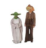 Jar Jar Binks kostuum en Yoda kostuum - 290