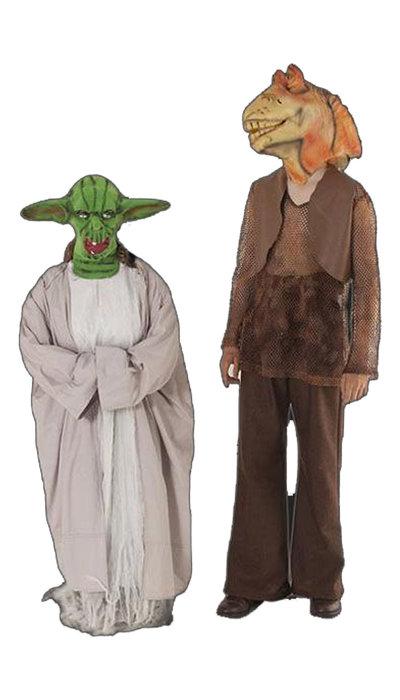 Jar Jar Binks & Yoda