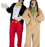 Pluto en Mickey Mouse kostuum huren