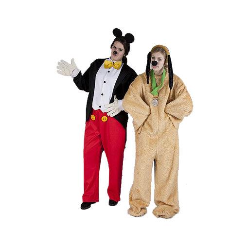 Pluto en Mickey Mouse
