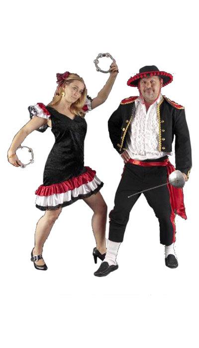 Spaanse kostuums huren - 436