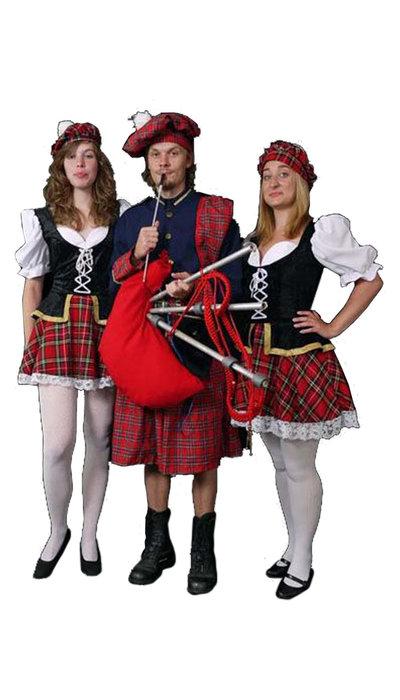 Schotse dame & heer
