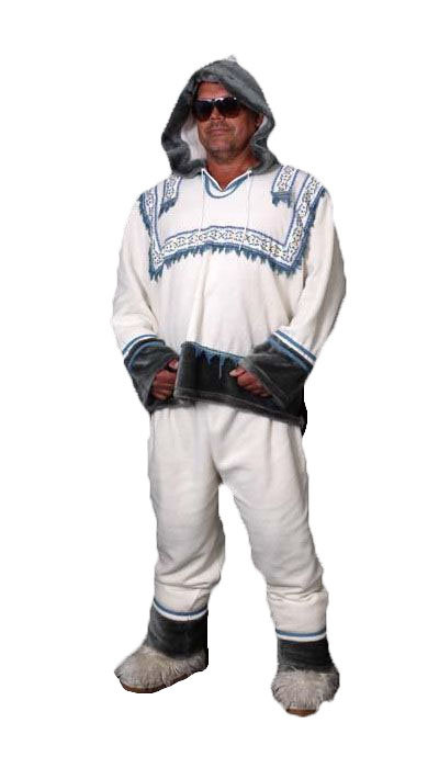 Eskimo pak voor carnaval