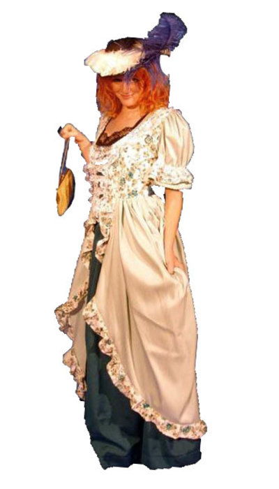 Historisch dames kostuum