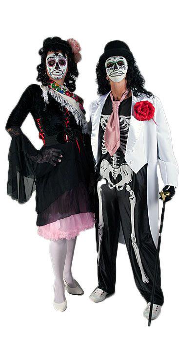 Day of the dead kostuum huren