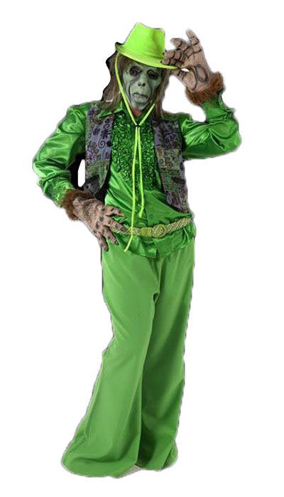 Groen griezel kostuum - 324