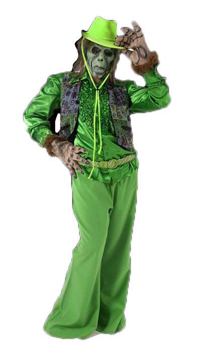 Groen griezel kostuum