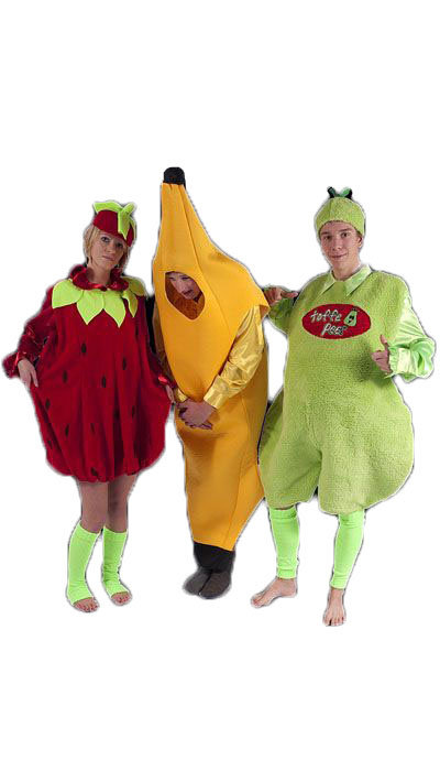 Toffe peer, aardbei, banaan - 206