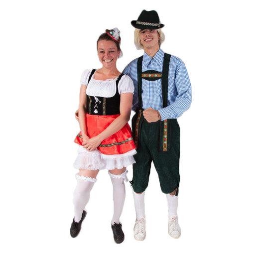 Tirol man-vrouw kostuum