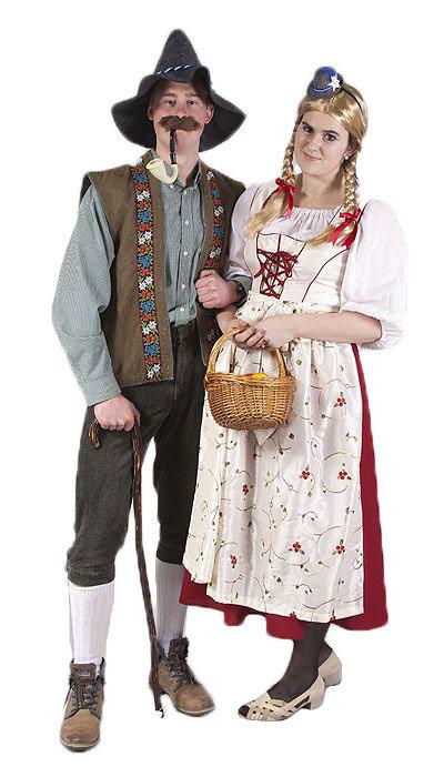 Boer en boerin Tirol