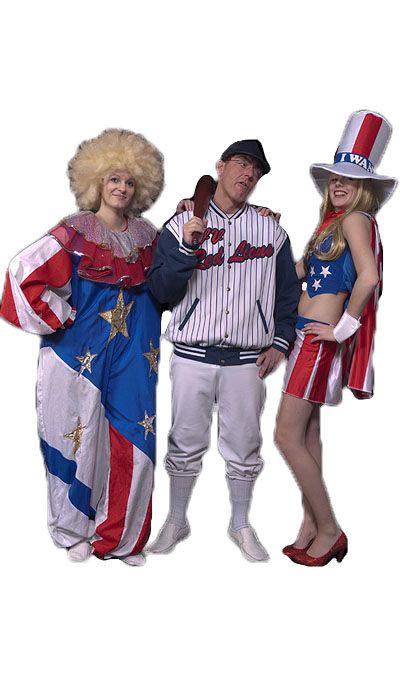 Amerikaanse kostuums huren - 218