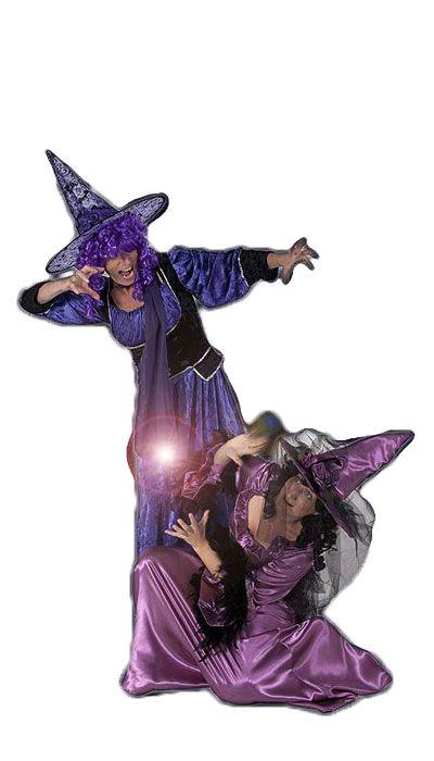 Heksen outfit huren - 332