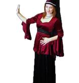 Kasteel vrouw kostuum huren - 352
