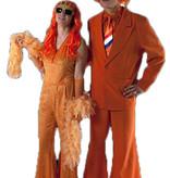 Oranje kostuum koningsdag huren