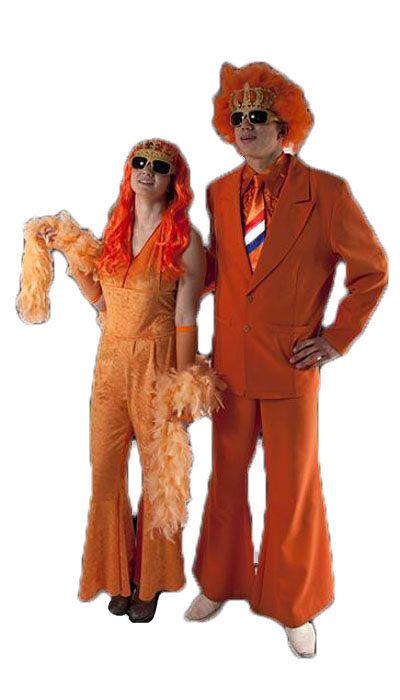 Oranje kostuum koningsdag - 358