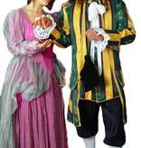 Ouderwetse kostuums huren