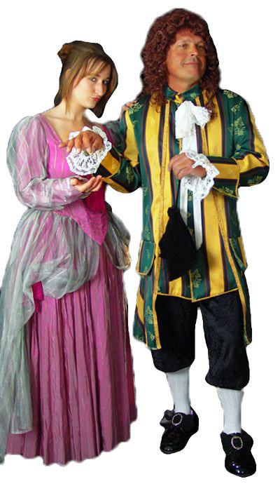 Ouderwetse kostuums huren - 453