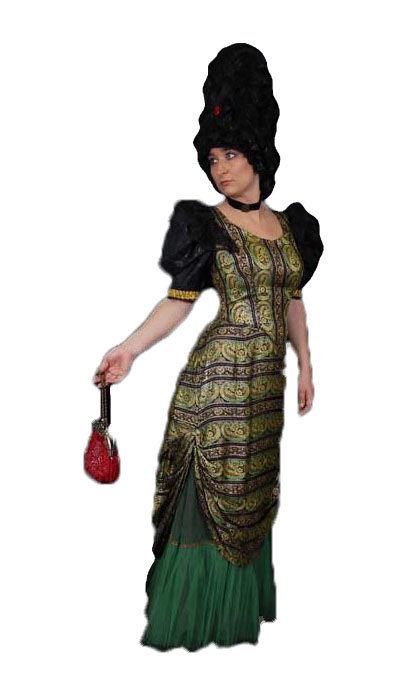 Vrouwen kostuum uit de Renaissance - 412
