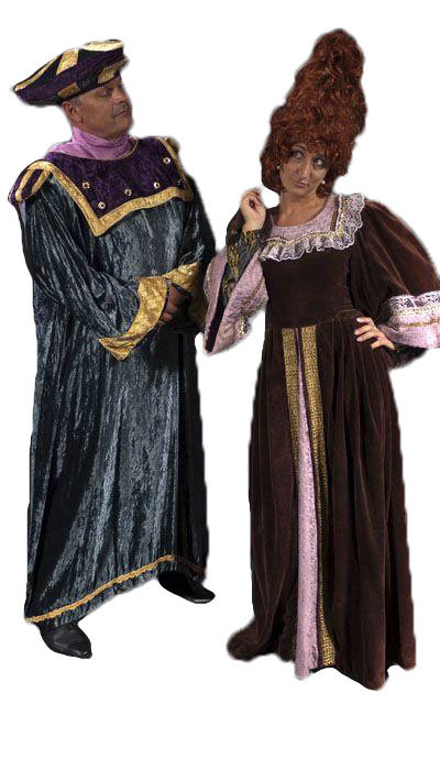 Renaissance kostuums  - 410