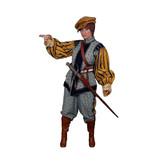 Spaans soldaten kostuum huren