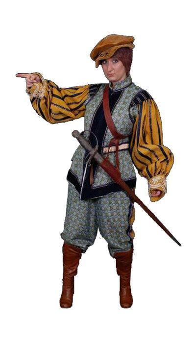 Spaans soldaten kostuum huren - 438
