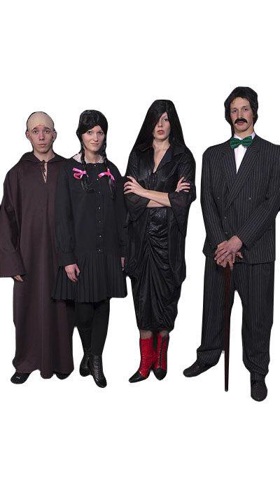 Addams Family kostuums huren - 221