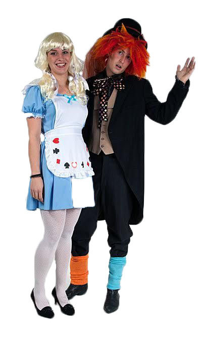 Alice in Wonderland & Mad Hatter - 140