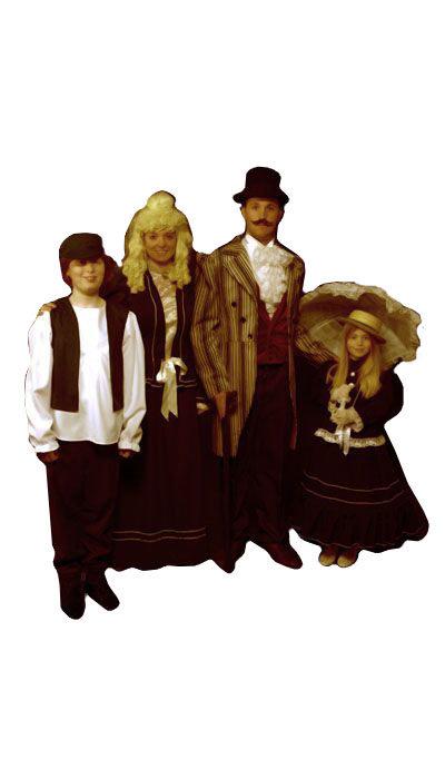 Kostuums uit de 19de eeuw  - 241