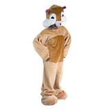 Dieren kostuum van een hamster
