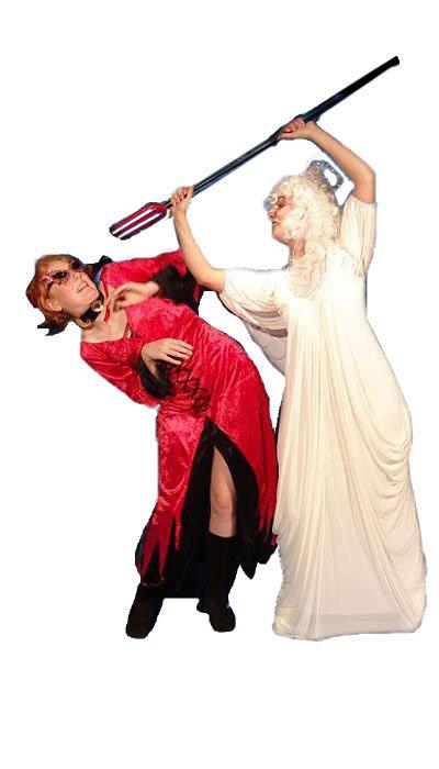 Engel kostuum en duivel kostuum huren - 310