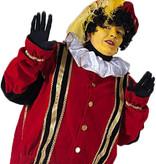 Gele Piet schminken