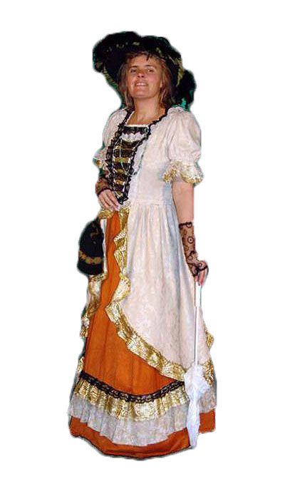 Historische dame