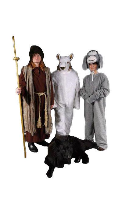 Kerststal kostuums - 353