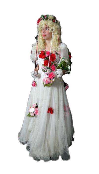 Lente bruidsjurk
