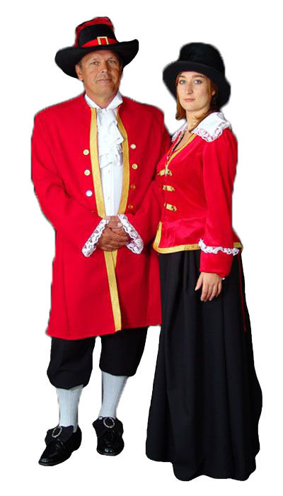 Engelse kleding uit de 18de eeuw