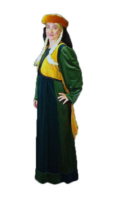 Middeleeuwse jonkvrouw - 375