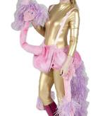 Roze Flamingo kostuum huren